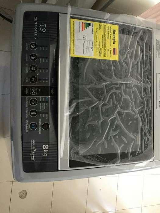 Lavadora Centrales Automatica de 8 Kg