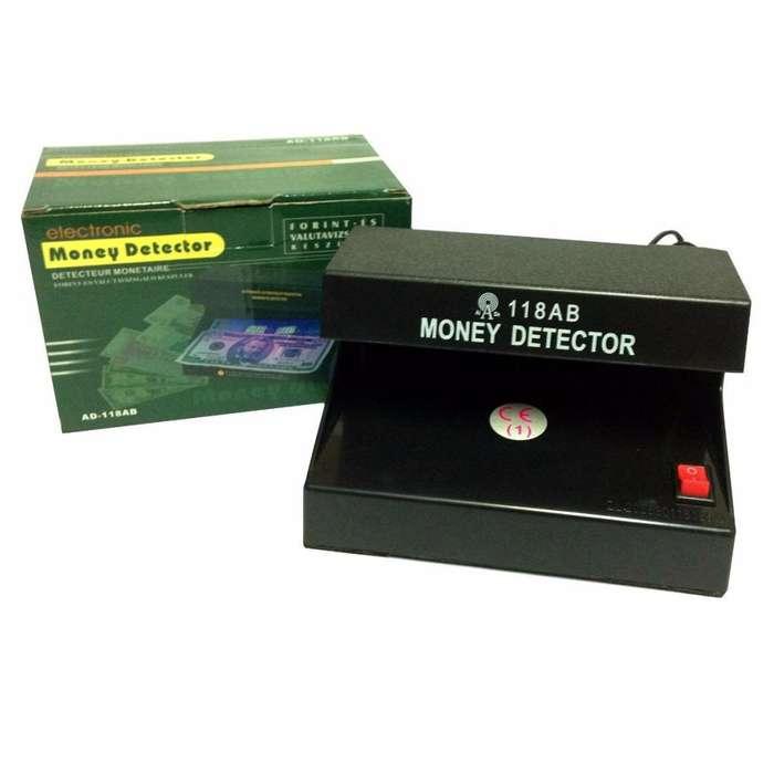 Detector de Billetes Falsos Eléctrico con Luz Ultravioleta