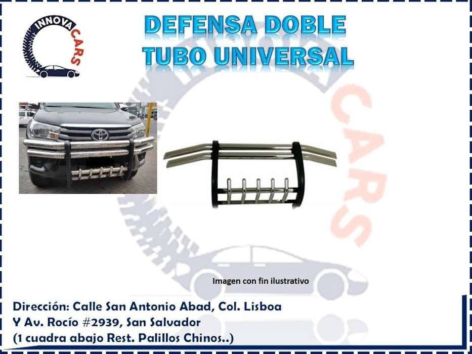 DEFENSA DOBLE TUBO UNIVERSAL
