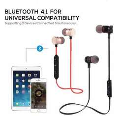 XT12 Audífonos Bluetooth Deportivos Imán Magnéticos Sport Manos Libres