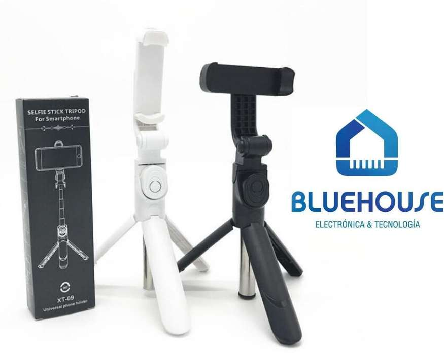 Monopod Selfie Tripode Bluetooth Xt10 Smartphone