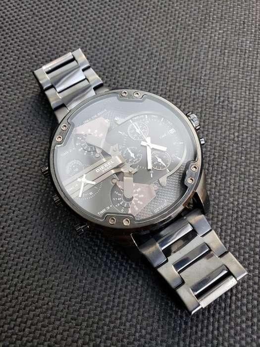 Reloj Multifuncional Acero
