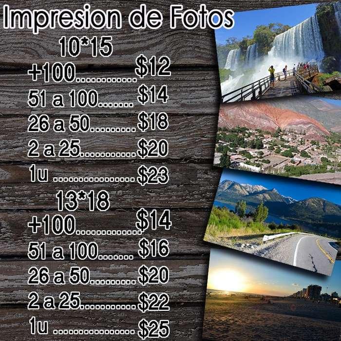 REALIZAMOS IMPRESIONES FOTOGRAFICAS!