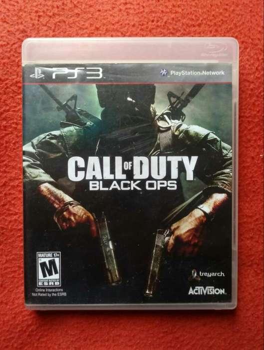 Ps3 Juego Play 3 Cod Black Ops 1