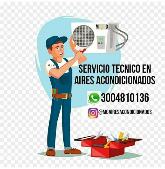 Mantenimiento de Aires Acondicionados.