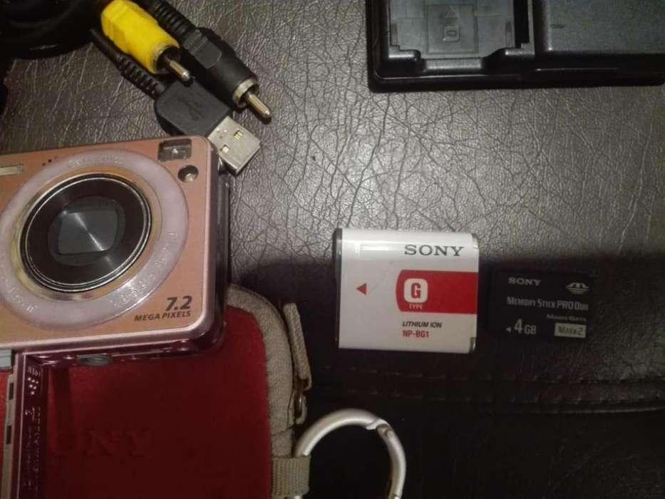camara digital sony cybershot w120 Rosada