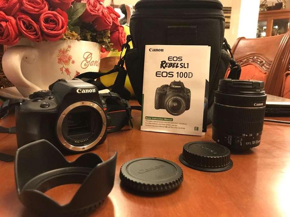 Cámara Canon Eos Rebel Sl1