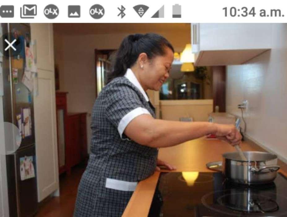 Cocinera P. Cocina Sencilla Cama Adentro