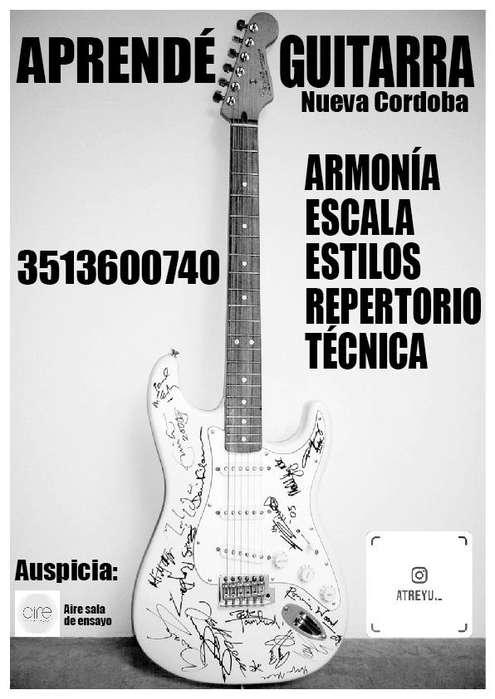 Aprende Guitarra en Nueva Cordoba