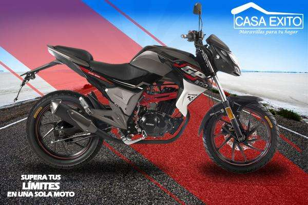 Moto Shineray Gp200 200cc Año 2019 Color Negro/rojo Casa Éxito