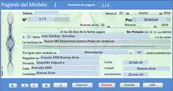 Software para completar Pagarés
