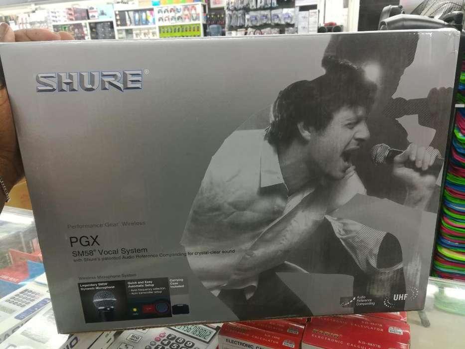 Microfono Shure Bera Pgx58-j6