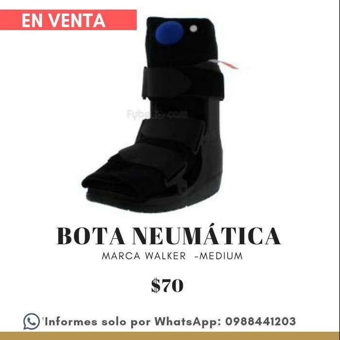 Bota Neumática Walker Medium