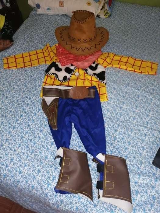 Disfraz Vaquero Woody Toy Story