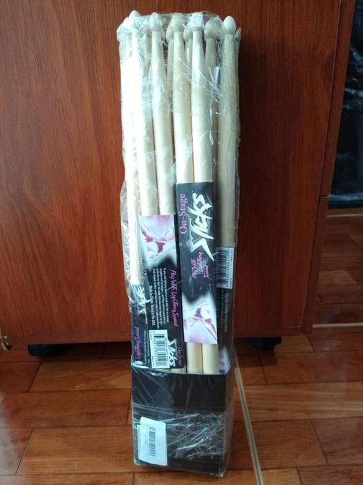 Pares de Baquetas Sticks 5a