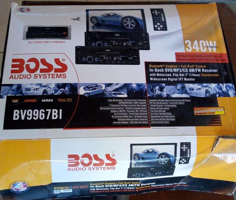 Vendo Audio Systems BOSS poco uso, EXCELENTE ESTADO.