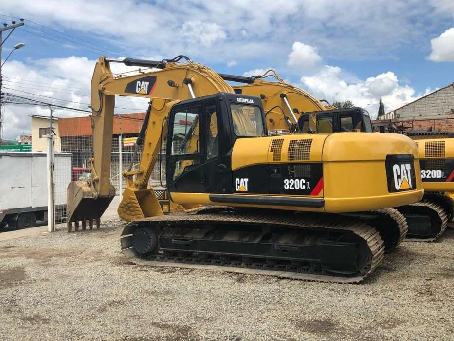 Excavadora Caterpillar 320CL 2006 Importada