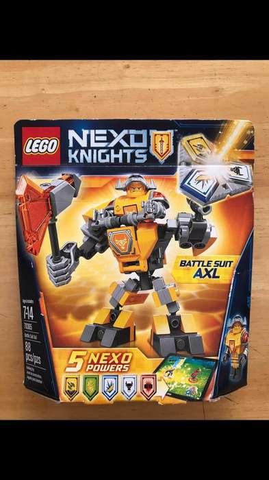 Lego Nexo Kinghts Axl Con Armadura De Combate