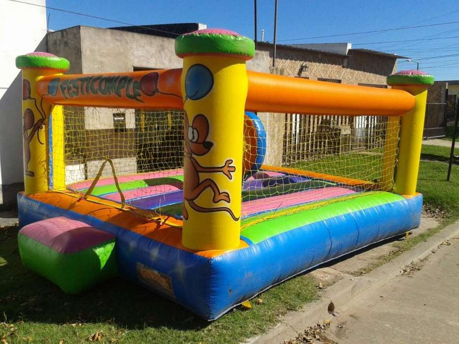 Castillo Inflable 4x4 20000