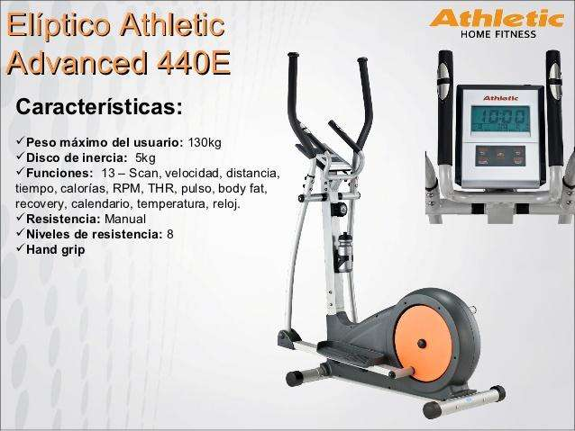 Eliptica Athletic Advanced 440E