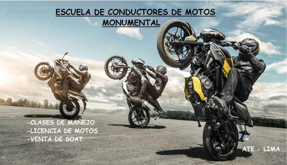 Moto Escuela Monumental