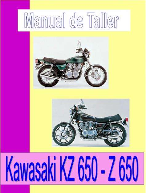 Kawasaki KZ 650 manual taller despiece