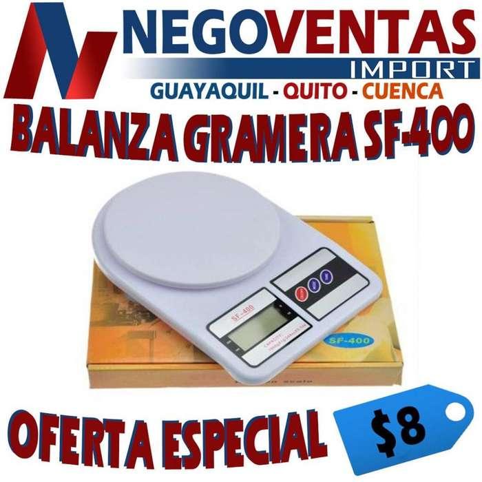 BALANZA GRAMERA DE OFERTA