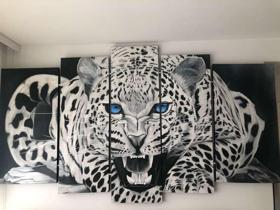 Cuadro Tigre