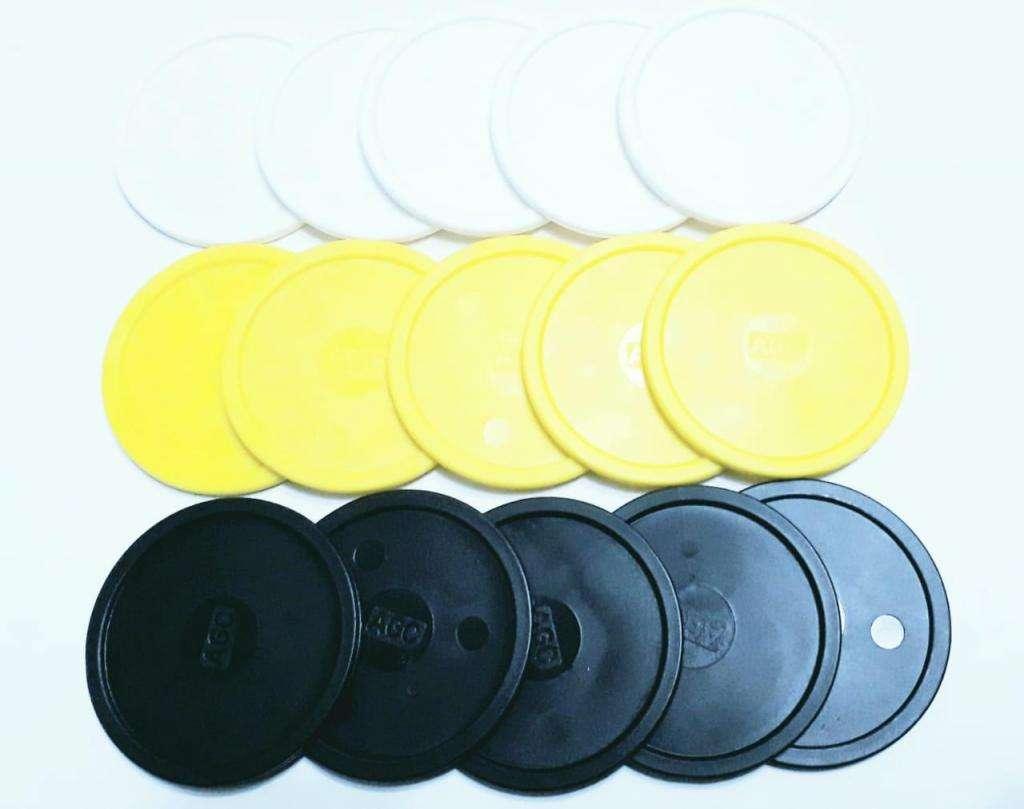 100 discos o fichas de tejo agc repuestos