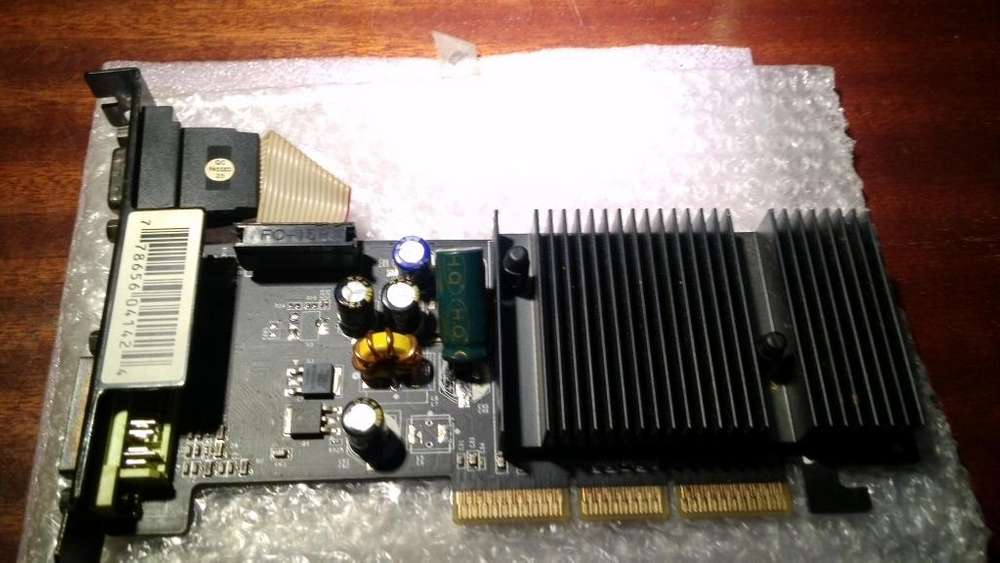 1 placa de video geforce 6200..