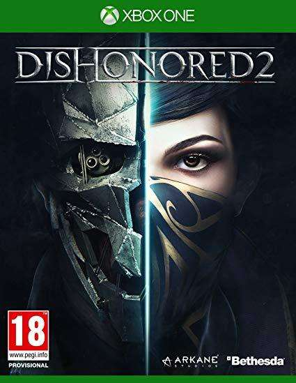 Dishonored 2 Xbox one Nuevo