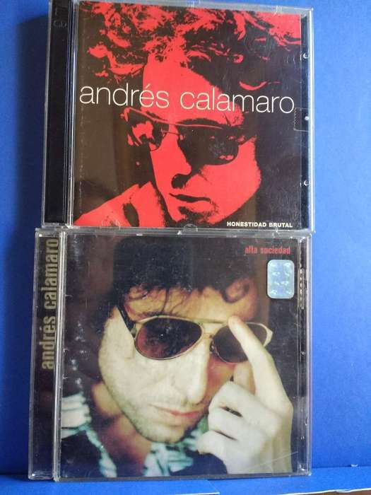 3 Cd,s 2 Albunes de Andres Calamaro