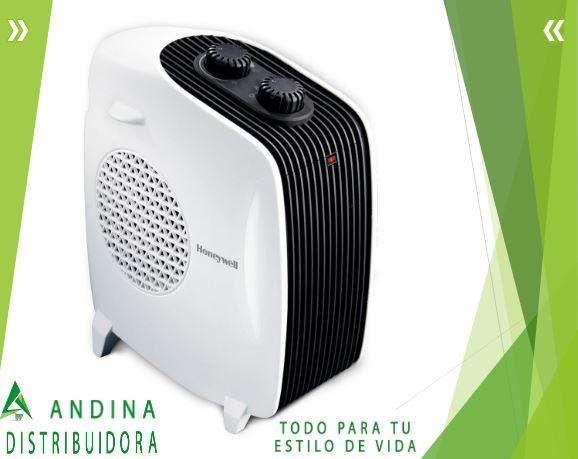 Calefactor Y Ventilador Honeywell De Dos Pociciones, Seguro
