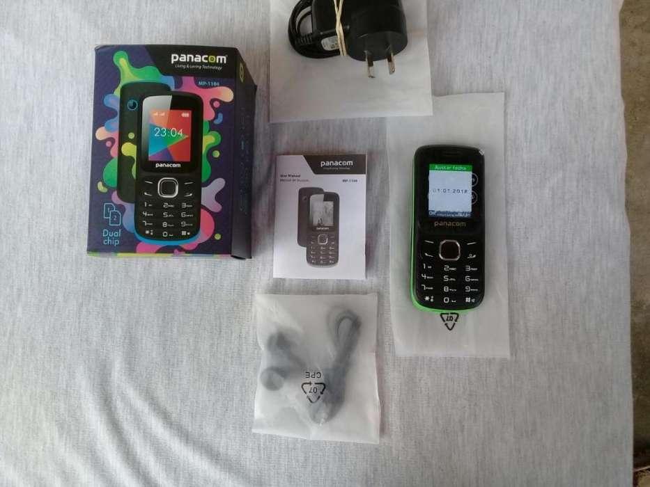 Celular Panacom Mp1104 Dual Sim Libre Mp3 Camara Libre