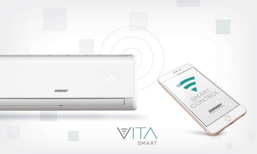 Aire Acondicionado 2250 W Surrey Vita con WiFI 553VFH0921F - Solo Frio