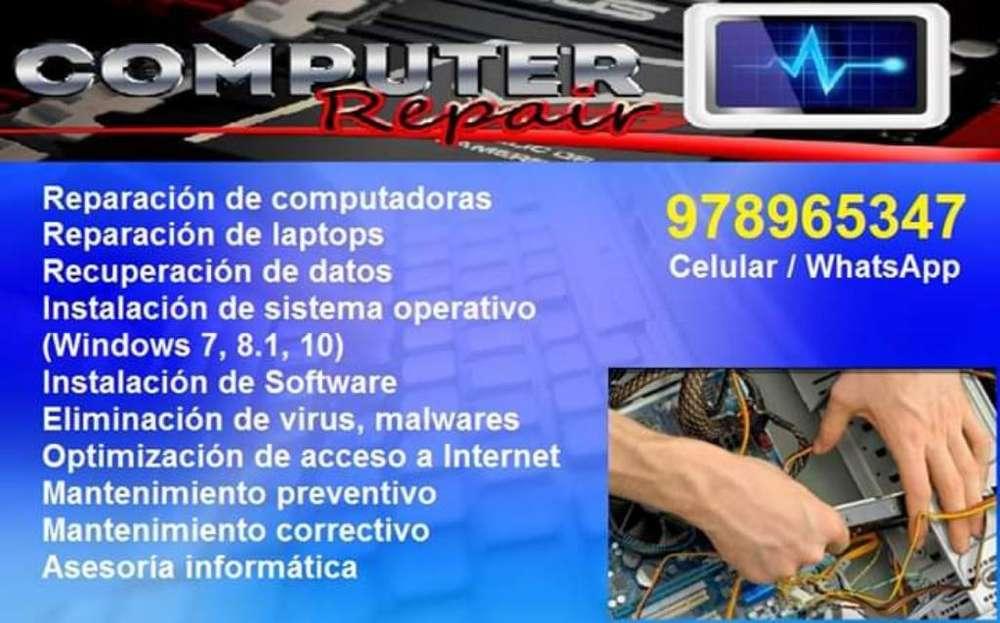 Reparación de Computadoras - Chiclayo