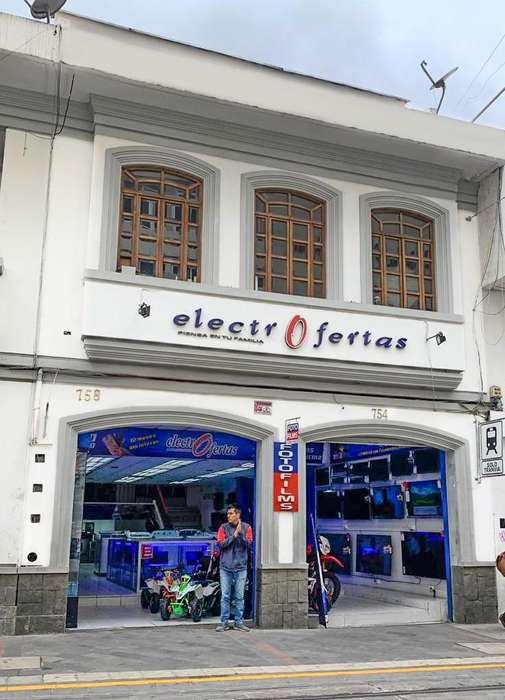 Edificio en renta, sector Centro histórico de la ciudad.