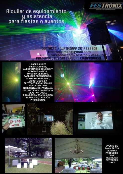 TÉCNICA, Sonido, Iluminación, Filmación, Edición Peofesional