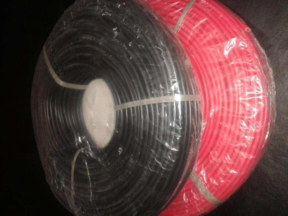 Rollos de Cable 4mm x 100mt / Unipolares desde 680 Pesos / Materiales Electricos / Envios La Plata s/c
