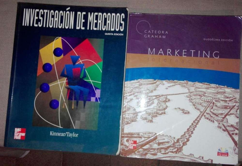LIBROS INVESTIGACION DE MERCADOS Y MARKETING INTERNACIONAL