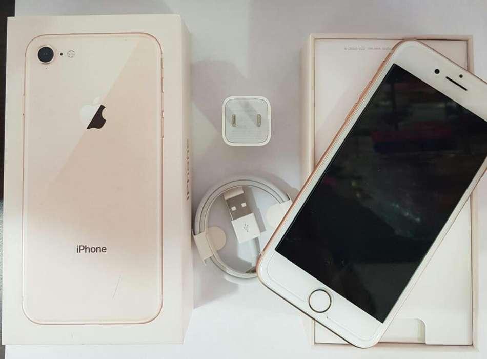 iPhone 8 Oro Rosa 64gb Usado