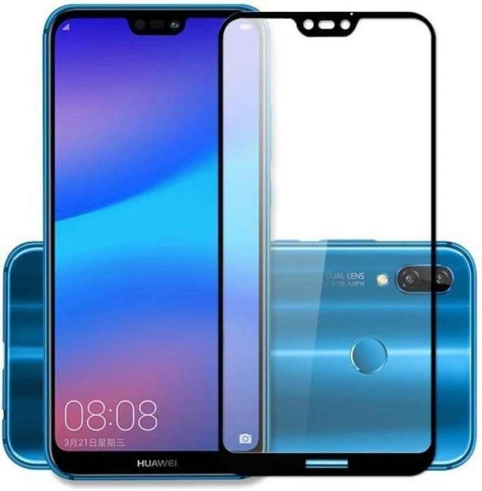 Vidrio Templado 5d Huawei P20 Lite Protección Completa