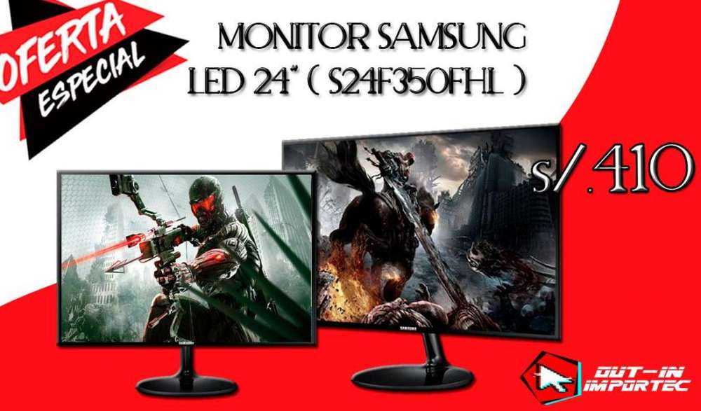 MONITOR SAMSUNG LED 24