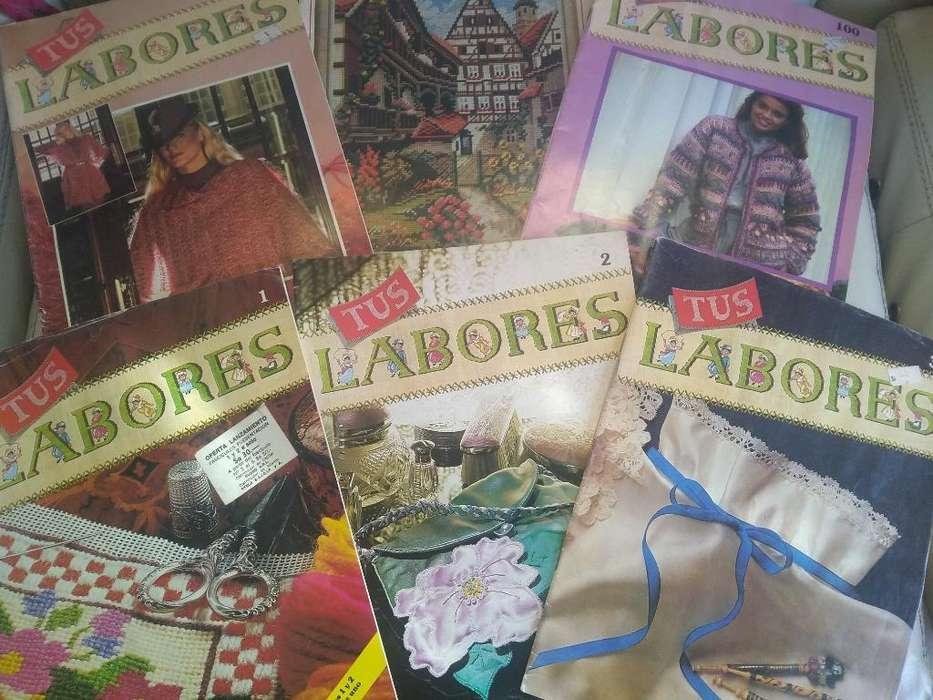 Revistas Tus Labores 5 y Revista de Tapices 1