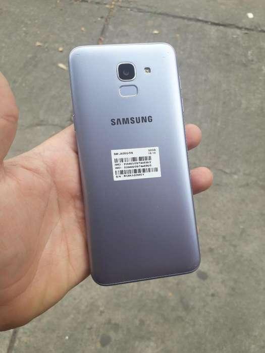 Samsung J6 de 32gb Huella