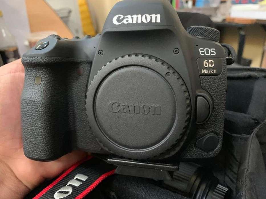 Cámara Canon 6D Mark II Nueva