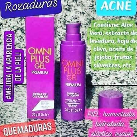 Gel omniplus dile adis al acne cicatrices y manchas