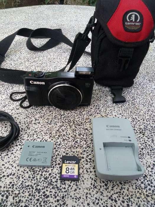 Vendo Cambi por Cel Canon Sx710 Hs