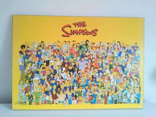 <strong>cuadros</strong> LOS SIMPSONS