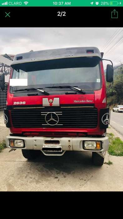 Se vende volqueta Mercedes 2636